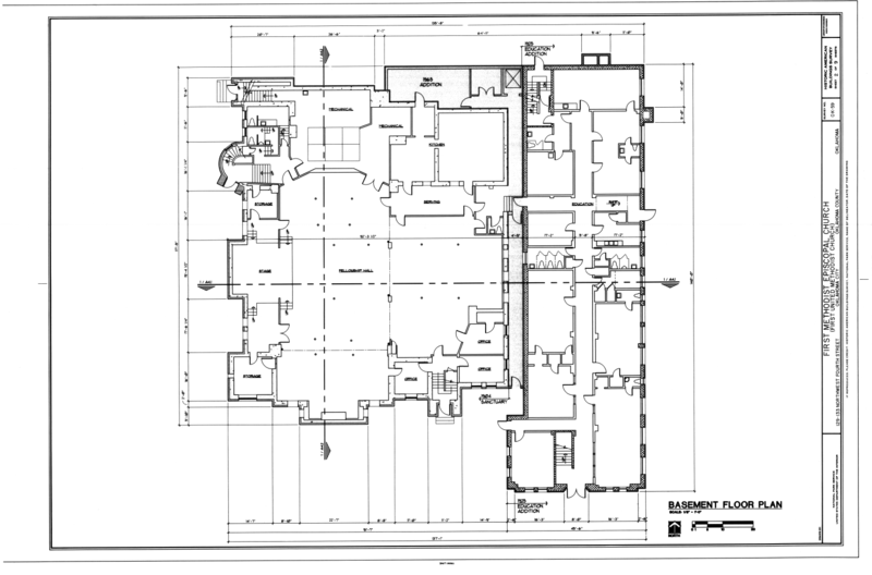 File basement floor plan first methodist episcopal for Floor plans oklahoma