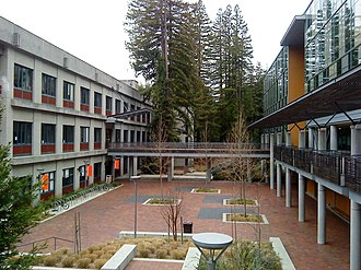 Jack Baskin School of Engineering - Engineering 1 on the left and Engineering 2 on the right