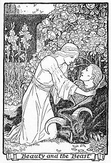 <i>Beauty and the Beast</i> traditional fairy tale