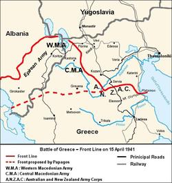 brennerpasset kart Den gresk italienske krig – Wikipedia brennerpasset kart