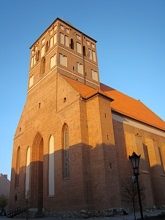 Chojnice - Small basilica