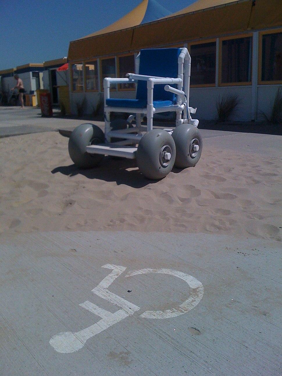 Beach wheelchair Netherlands