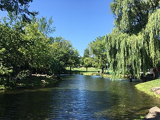 Outremont, Quebec - Beaubien Park in Outremont.