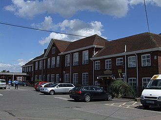 Beaumont School, St Albans - Image: Beaumont School, St.Albans geograph.org.uk 1046665