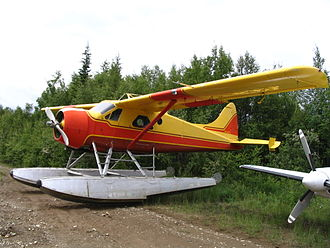 Russ Baker (pilot) - The first commercial Beaver floatplane was acquired by Central British Columbia Airlines, precursor to Pacific Western Airlines