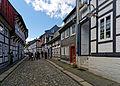 Beeindruckende Fachwerkbauten prägen die Goslarer Altstadt. 03.jpg