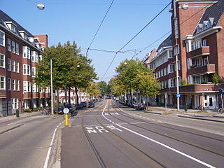 Apollobuurt Neighborhood of Amsterdam in North Holland, Netherlands
