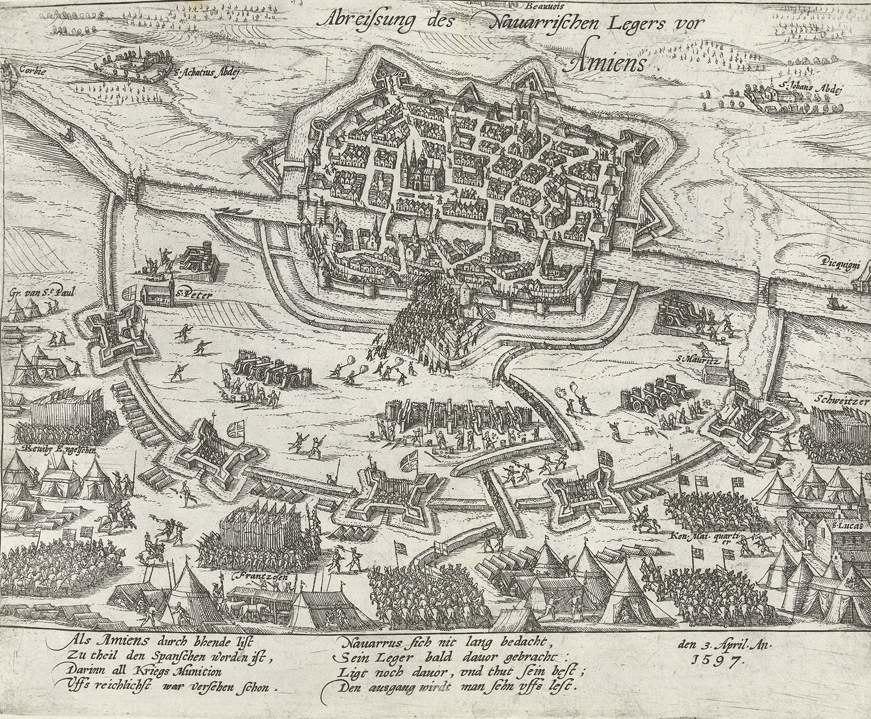 Beleg van Amiens door Hendrik IV, 1597