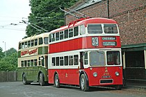 Guy/Sunbeam Arab Trolleybus uit 1958