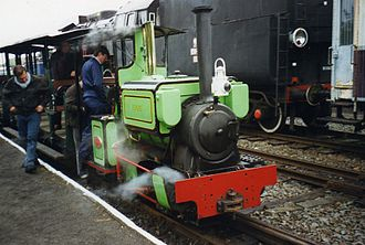 Leighton Buzzard Light Railway - Image: Belgian Narrow Steam