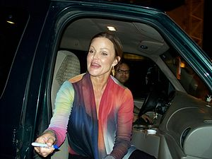 Belinda Carlisle - Carlisle signing autographs in Boston, Massachusetts, 2012.