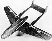 Bell XP-59 wind tunnel model 060913-F-1234P-012