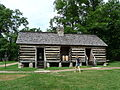 Belle Meade reconstructed slave quarters.JPG