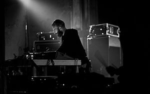 Ben Frost (musician) - Frost performing in 2014