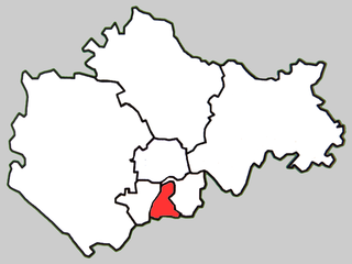 Bengshan District District in Anhui, Peoples Republic of China