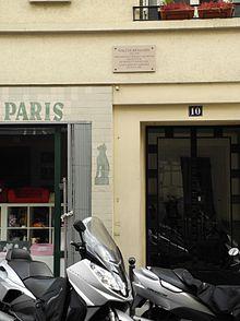 Benjamins pariser wohnung 10 rue dombasle 1938 1940
