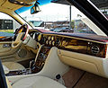 Bentley Arnage R Mulliner (Facelift) – Innenraum (1), 28. Oktober 2011, Düsseldorf.jpg
