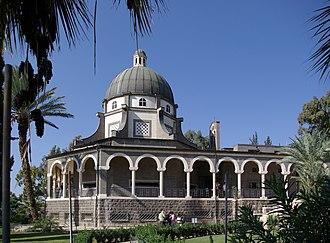 Mount of Beatitudes - Roman Catholic chapel at Mount of Beatitudes