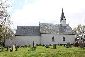 Berg, Østfold - Image: Berg kirke ved Halden