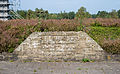 Bergen-Belsen concentration camp memorial - mass grave No 4 - 01.jpg