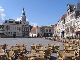 la Grand-Place de Berg-op-Zoom