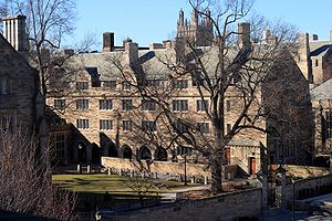 George Berkeley - Berkeley College, one of Yale University's 14 residential colleges, is named after George Berkeley.
