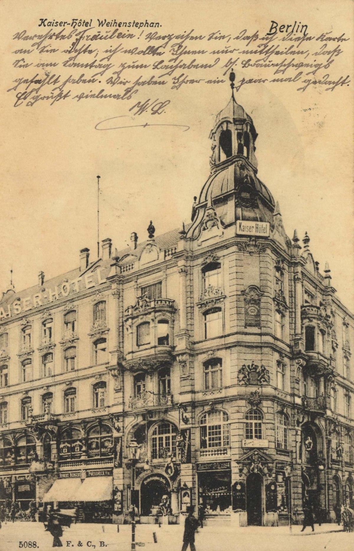 Hotel Augusta Berlin Kurf Ef Bf Bdrstendamm