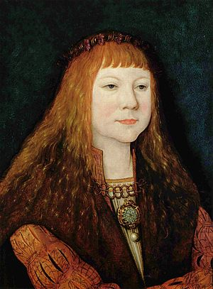 Louis II of Hungary - Young Louis II, about 1515, by Bernhard Strigel