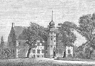 Berritzgaard - Berritzgard in 1874