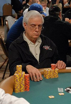 Berry Johnston - Johnston at the 2007 World Series of Poker.