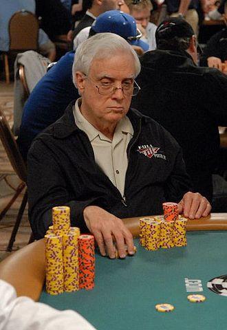 Berry Johnston - Johnston at the 2007 World Series of Poker.