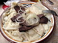 Beshbarmak, national dish (3991850909).jpg