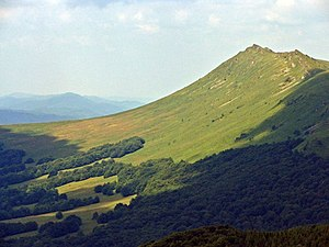 National Parks of Poland - Krzemień Mountain in the Bieszczady Range