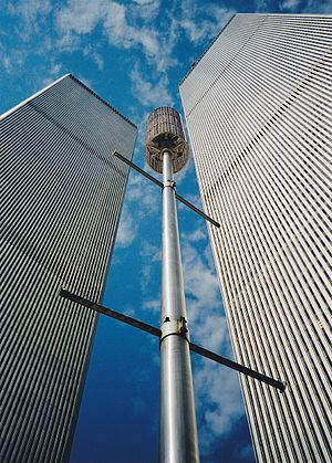 English: World Trade Center New York, twin tow...
