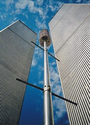 English: World Trade Center New York, twin tow...