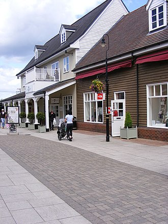 Bicester - Part of Bicester Village