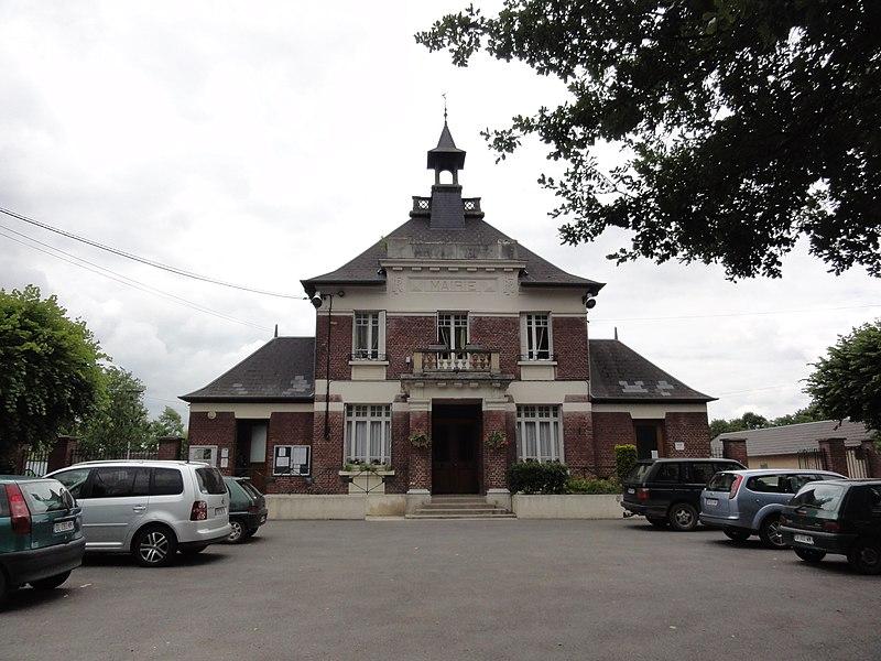 Bichancourt (Aisne) mairie
