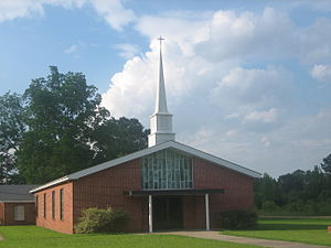 Bienville, Louisiana - First Baptist Church of Bienville