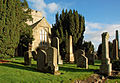 Biggar Kirk & Graveyard (geograph 4237580).jpg