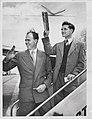 Bill Johnston and Neil Harvey 1951.jpg