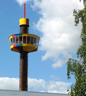 Legoland Billund Resort - Image: Billund Legolands udsigtstårn