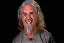 Billy Connolly laughing