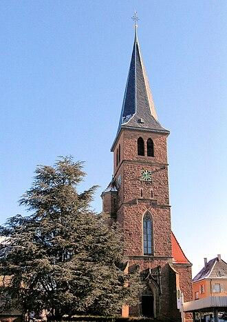 Bischweier - Church St. Anna