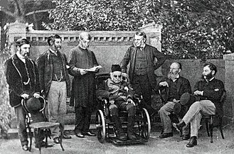 Henry Phillpotts - Bishop Phillpotts with six of his sons on the occasion of his 90th birthday, 1868
