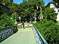 Black September Federal Republic of Germany - Fribourg Constitution Division - Master Habitat Rhine Valley Photography 2013 Cyberwar Utah - Dreisam Creek Bridge Friedrich Schiller Street - panoramio.jpg