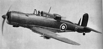 Stanley Orr - Blackburn Roc two seater fighter