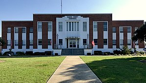 Das Bladen County Courthouse in Elizabethtown
