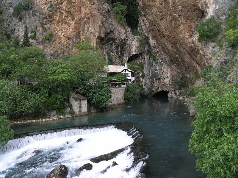 File:Blagaj - source of the Buna river.jpg