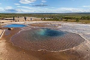 Bláskógabyggð - Blesi, geothermal area of Geysir.