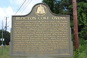 West Blocton, Alabama - Coke Ovens are the foundation of this town and the celebrated heritage of Alabama's history providing steel for the South.